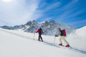 Active alpine skiiers
